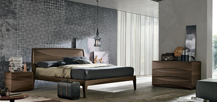 Camera Da Letto Moderna Rovere Grigio : Camere da letto