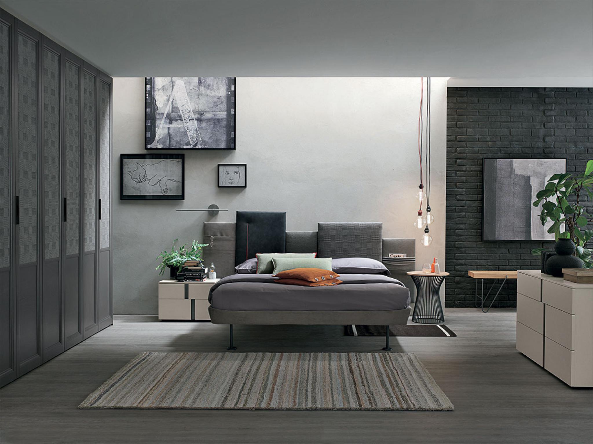 Camere da letto for Camere da letto moderne marche